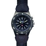 Ion, Women, Black EL Military Dial, Outrider Band
