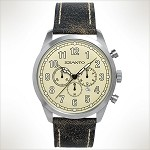 Szanto Series 2000<br />Leather Strap - Cracked Black